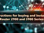 خرید و نصب روتر های سیسکو 2900 و 3900